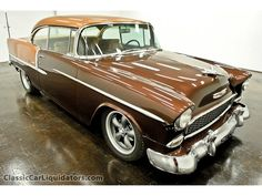 1955 Custom Chevy Bel Air/150/210 1955 2 Door Hardtop 350 Automatic PS