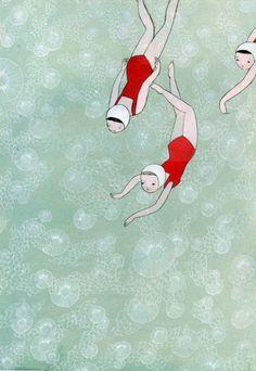 Jen Corace . Derin diil su gercekten, bak benim burama gelmezdi yoksa. Gercekten cok guzel su bak gercekten hadi gelin havuza
