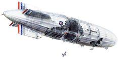 USS Macon Cutaway Wallpaper                                                                                                                                                                                 More