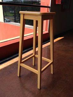 banco de madera excelente terminado maple ms