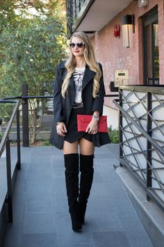 Visions of Vogue - Over the Knee Boots 2