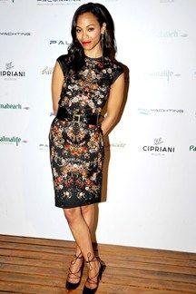 Zoe Saldana - best dressed
