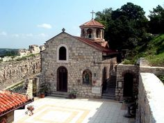 Medieval Church St. Petka, Belgrade Fortress, Kalemegdan Park, Serbia. - The chapel was built in 1937 at the place of an original church which was built in the late 15th century.