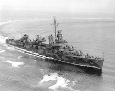 USS Fletcher (DD-445) leading ship of her class.
