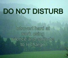 Calm. Take time.