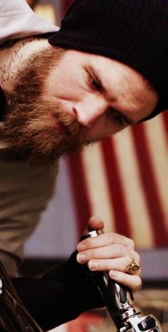 Ryan Hurst Fans - lumbersexual and a biker, does it get any better??