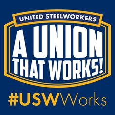 #United Steelworkers    @steelworkers    Fighting for better jobs, communities and a brighter future.   U.S., Canada, Caribbean     usw.org      Joined January 2010
