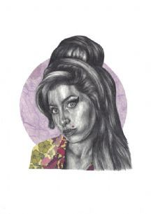 amy winehouse valentine card