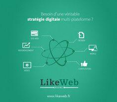 Besoin d'une véritable stratégie digitale multi-plateformes?