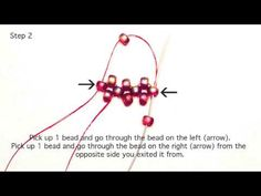 Cubic Right Angle Weave Tutorial by Crystal Star Gems & Jewellery - #Seed #Bead #Tutorials