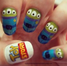 cute Toy story nails