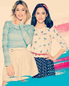 Violetta 3 (Violetta et Francesca) <33 las quiero