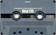 SONY Metal-S 90 Hifi Audio, Cassette Tape, Retro Futurism, Audio Equipment, Lp Vinyl, Audiophile, Mixtape, Old School, Sony