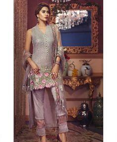 Buy Multi Color Georgette Pakistani Suit Lehenga Choli, Saree, Online Shopping, Pakistani Designers, Pakistani Suits, Salwar Kameez, Designing Women, Dresses Online, Designer Dresses
