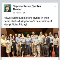 Hemp Aloha Friday!! Thank you Cynthia and everybody for working so hard on trying to get Hemp grown in our beautiful state of Hawaii #industrialhemp #hempforall #hempforhawaii #hawaiipride #hawaiistatecapitol #hempishope #ihemphi #hempfarmers