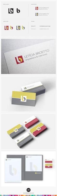 AHdesign Studio, Identidade Visual para Letícia Broetto #design, #graphicdesign, #idvisual, #branding, #businesscard, #papelaria, #logodesign, #logomarca, #arquitetura, #architecture, #letterpress, #ahdesignstudio