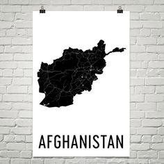 Afghanistan Map Map of Afghanistan Afghan Art Afghanistan