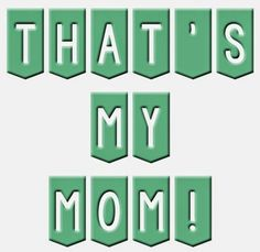"""This is a great Mother's Day Activity. Play the game """"That's my Mom"""". Each girl gets a sign that says """"That's My Mom!"""". This can be as simple as it written on a piece of paper. The girls sit in the"""