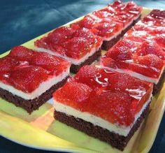 Cake Recipes, Dessert Recipes, Strawberry Cakes, Fudge, Breakfast Recipes, Raspberry, Cheesecake, Deserts, Sweets