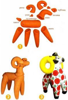 Дымковская игрушка — основы изготовления | Всё самое интересное!
