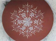 Snowflake Plate Packet by Arlene Linton