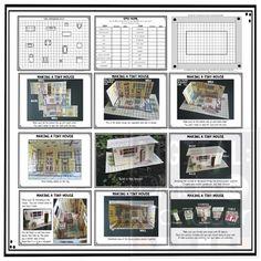 Build a house math project