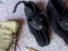 Cuddliest Kitty Slippers - are these not the cutest slippers you've ever seen? Winter is coming... :-)