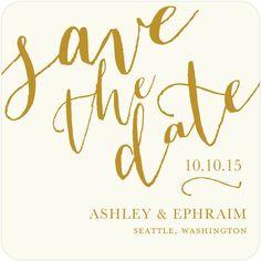 Penned Promises - Signature White Save the Date Cards  http://www.weddingpaperdivas.com/product/12947/signature_white_save_the_date_cards_penned_promises.html #savethedates #weddinginvites