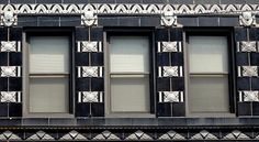 Black White Deco Windows