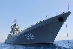 Battlecruiser | Media RSS Russian battlecruiser Pyotr Velikiy (view original)