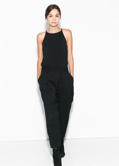 Halter long jumpsuit