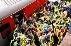 Realtime Multilevel Crowd Tracking using Reciprocal Velocity Obstacles