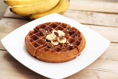 Banana Pecan Waffles - Gluten-free, Vegan + Refined Sugar-free by Tasty Yummies, via Flickr