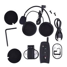 2016 New hot selling V2-500M Motorcycle Helmet Interphone Intercom Bluetooth Helmet Headset for 2 Riders,price for 2pcs Half Helmets, Motorcycle Parts And Accessories, Motorcycle Helmets, Hats For Women, Motorbikes, Bluetooth, Headset, Ebay, Watch