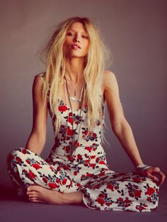 Free People Roses Are Red One Piece, $148.00
