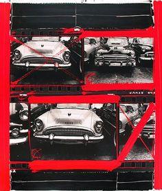 William Klein Buicks2tieredNewYork1955