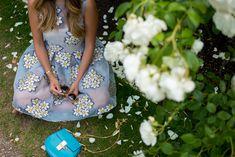Chloe Drew Bag in Turquoise