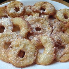 Amazing and easy authentic Polish Apple Fritters