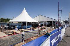 Gute Kombi für Sportevents: Pavillon trifft auf Eventhalle!