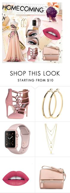 """""""pink homecoming!"""" by ymargaret216 on Polyvore featuring Steve Madden, Pieces and Givenchy"""