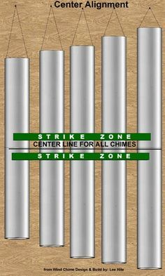 Strike Zone for Center Alignment wind chimes                                                                                                                                                     More