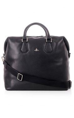 10525a71c5c Vivienne Westwood Bags Vivienne Westwood Milano Leather Weekend Bag Black - Vivienne  Westwood Bags from Blueberries UK