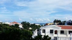 Ocean view from the new mall in Playa del Carmen (5th Ave and Constituyentes)