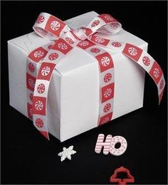 Gift Wrap Peppermint Ribbon 5/8' x 20 Yards, Peppermint Printed Ribbon Check -- Click image for more details.