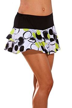 Show No Love Women's Ball Girl Flounce Tennis Skirt: Liven up your game in this energetic print skirt with double tiered ruffle and attached ball short underneath, another new style from Show No Love where custom and team orders are always welcome! Womens Tennis Skirts, Tennis Outfits, Tennis Clothes, Thing 1, Workout Attire, Athletic Outfits, Athletic Clothes, Cute Skirts, Mini Skirts