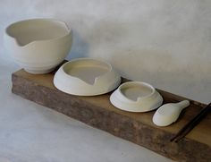 Pho Tableware ~ by Omid Sadri (Dis-assembled). I want them (and some pho)!
