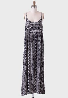 Maricopa Printed Maxi Dress at #Ruche @Ruche The back is awesome!