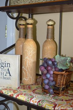 Upcycle Your Empty Bottles into Aged Treasures