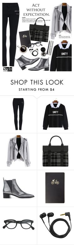"""""""Act without expectation"""" by helenevlacho ❤ liked on Polyvore featuring Acne Studios, Forever 21, J.Crew, Sennheiser, Bobbi Brown Cosmetics and shein"""