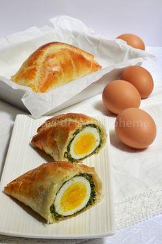 Ricetta torta pasqualina con pasta sfoglia pronta uova sode bietola e primosale